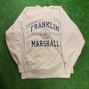 VTG Champion Franklin Marshall Crewneck